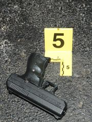 9mm weapon said to be the weapon Antonio Martin possess