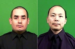 NYPD Officers Rafael Ramos and Wenjian Liu